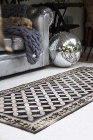 Beija Vinyl Floor Runner - Sofi Antique from Rockett St George Vinyl Floor Mat, Vinyl Rug, Vinyl Flooring, Floor Mats, Rockett St George, Floor Runners, Tin Tiles, Carpet Flooring, Flooring Tiles