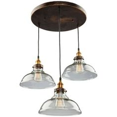 Greenwich Dome Multi Light Pendant by Artcraft at Lumens.com