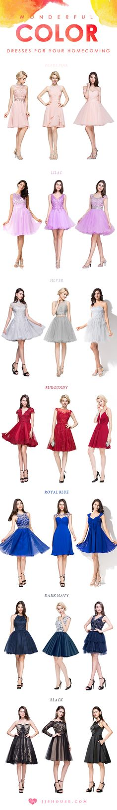 Wonderful color Dresses For Your Homecoming! #Homecomingdress