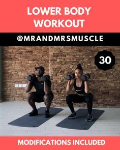 Legs Workout HIIT with Low Impact Modifications - Real Time - Diet, Exercise, Fitness, Finance You for Healthy articles ideas Fitness Workouts, Hiit Workout Videos, Sixpack Workout, Full Body Hiit Workout, Gym Workout Tips, Fitness Workout For Women, Dumbbell Workout, Butt Workout, Workout Challenge