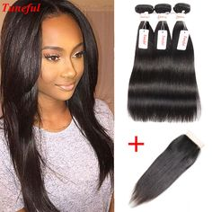 Brazilian Hair With Closure Straight Weave Peerless Virgin Hair With Closure 3 Bundle Deal Brazillian Straight Hair With Closure http://jadeshair.com/brazilian-hair-with-closure-straight-weave-peerless-virgin-hair-with-closure-3-bundle-deal-brazillian-straight-hair-with-closure/ #HairWeftClosure(Bang)
