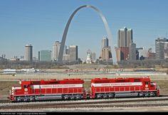 RailPictures.Net Photo: TRRA 2011 Terminal Railroad Association of St. Louis EMD GP38-3 at East St. Louis, Illinois by Mike Mautner