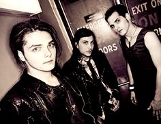 Gerard, Frank and Mikey