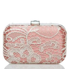 Love the Pink & Lace Clutch