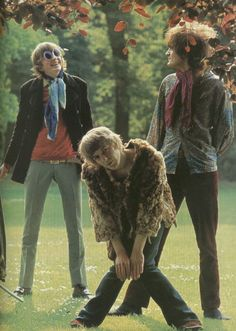THE SOFT MACHINE.... 1967.  This early prog rock band opened for Hendrix on his 1968 U.S. tour.