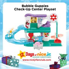 The Check-Up Center Playset is a swim-tastic gift idea for Bubble Guppies fans.