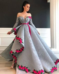 Beautiful Dona Matoshi gown! View more beautiful gowns by browsing Pageant Planet's dress gallery! #prom #pageant #promdress #pageantgown #donamatoshi #gown #dress #hautecouture