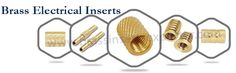 We offer precision quality of #BrassElectricalInserts with different sizes, shapes, threads, and various finishes as per customer's requirements.Visit @ http://www.brassinsertsexporter.com/our-products/brass-electrical-inserts/