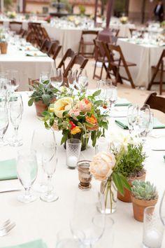 Paperwhites Wedding Inspiration - Style Me Pretty