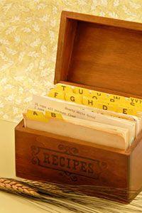 рецепты коробочка