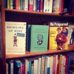 IN THE WILD  at @kramerbooks our fave bookstore in DC! #rulesformynewborndaughter