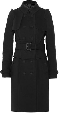Burberry Cotton-blend trench coat on shopstyle.com
