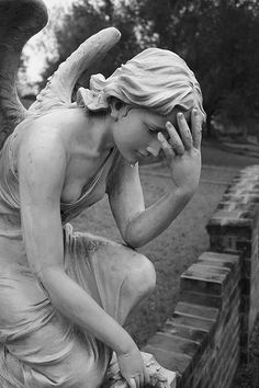 """""""Grief""""...Glenwood Cemetery, Houston Texas. One of the most beautiful places you'll ever see."""