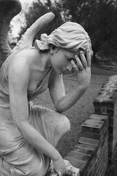"""Grief""...Glenwood Cemetery, Houston Texas"