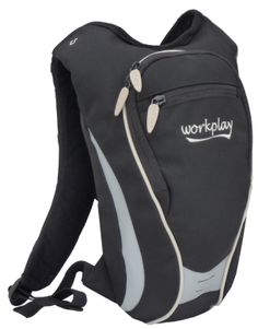 Female fit active backpack - the Mercury - this little 5ltr bag is designed to fit in a stable way while running, cycling, hiking or just a cute travel backpack. http://www.workplay-bags.com/Online-Shop/c1/p36/Mercury-Hydration-Ski,-Cycling-&-Running-Backpack---black/silver/product_info.html