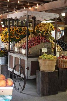 Right down the road from Sycamore! Autumn, bountiful harvest, Avila Valley Barn, San Luis Obispo, CA