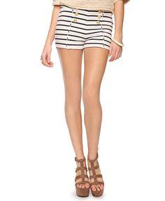 Striped Matelot Shorts