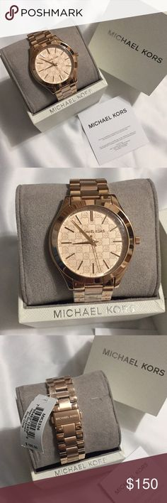 Michael Kors watch Rose gold Michael Kors watch Michael Kors Accessories Watches