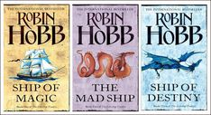 Robin Hobb The Liveship Traders Trilogy - I enjoyed every book. A fantastic adventure that kept me page turning.