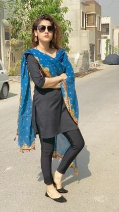 Get the latest trends ruling the charts in India. With the most fashionable range of apparels, accessories, and more, Limeroad will be your favourite of all online shopping sites. Pakistani Fashion Casual, Pakistani Dresses Casual, Pakistani Dress Design, Indian Fashion, Women's Fashion, Stylish Dresses, Simple Dresses, Casual Dresses, Fashion Dresses