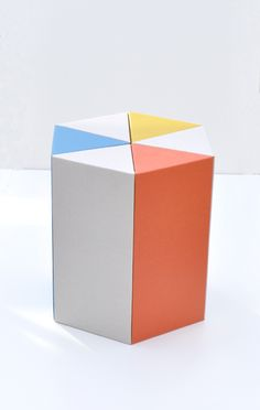 cardboard stool at Anaise