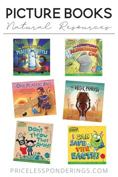 Natural resources for kids in 2nd, 3rd and 4th grade. Here is a list of fun picture books for your social studies class. #secondgradeclass