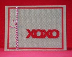 XOXO Kraft Valentine's Day Card  $2.95