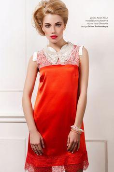 Роскошное платье от кутюр.