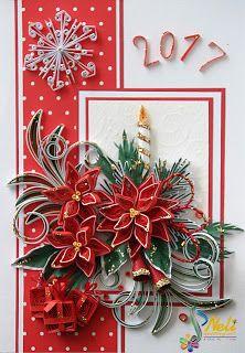 Neli Quilling Art: Preparation for Christmas _ # 1