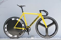 DOSNOVENTA DETROIT2.0 YELLOW CUSTOM SAMPLE. | LEADER BIKE総代理店 【BROTURES HARAJUKU】東京のピストバイクショップ