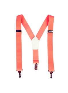 Pumpkin Patch - accessories - girls neon braces - S3AX40007 - dark fluro orang - small to large