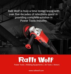 Ralli Wolf is truly a time tested brand with over five decades of relentless quest in providing complete solution in Power Tools Industry. #powertools http://ralliwolf.com
