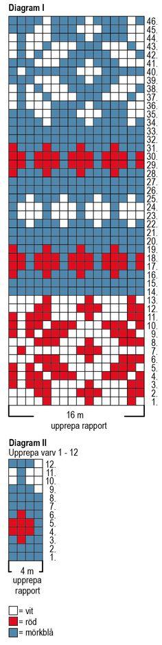 Nordic Yarns and Design since 1928 Crochet Chart, Knit Crochet, Wood Slice Crafts, Fair Isle Pattern, Fair Isle Knitting, Tapestry Crochet, Knitting Charts, Mittens, Knitting Patterns