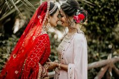 Bridal portrait inspiration For brides Indian Wedding Couple Photography, Indian Wedding Photos, Indian Bridal Outfits, Girl Photography Poses, Bridal Poses, Bridal Photoshoot, Bridal Portraits, Bridal Shoot, Indian Bridesmaids