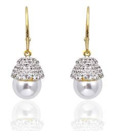 Buy Pearl Dangler Earrings danglers-drop online