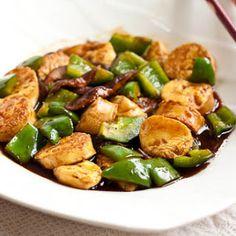 Stir-Fried Japanese Tofu