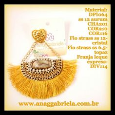 Brinco www.anaggabriela.com.br