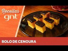 Receita de bolo de cenoura   Rita Lobo