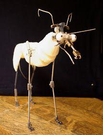 Skin & Bones: Ball & Socket Stop-Motion Fox Puppet In Progress!