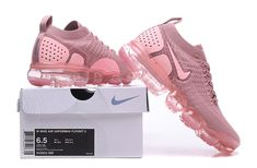 Nike Air VaporMax 2018 2.0 Flyknit Pink Light Purple Women Sapatos Atléticos, Novos Tênis, Tênis Nike