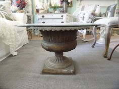 Shabby French Cottage: DIY Coffee Table