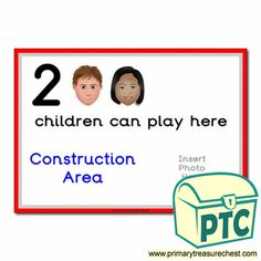 How Many Children... Construction Area Signs - Primary Treasure Chest Eyfs Classroom, Classroom Rules, Teaching Activities, Teaching Ideas, Ourselves Topic, Construction Area, A4 Poster, Classroom Organisation, How Many Kids