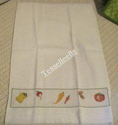 Di tutto un po'... bijoux, uncinetto, ricamo, maglia... ღ by tesselleelle ღ : Punto croce .....in cucina