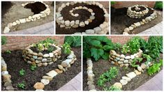 Learn how to create spiral vegetable garden and be proud of your fresh homegrown vegetables.