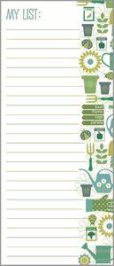 Gardening List Pad