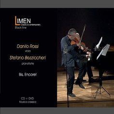 """CD+DVD Limen music """"Bis, Encore!"""" Danilo Rossi, viola - Stefano Bezziccheri, piano"""
