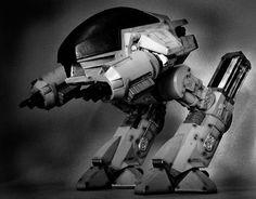 Ed209 from Robocop.