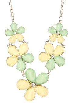 HauteLook | Big & Bold: Necklace Shop: Sophia Bloom Necklace