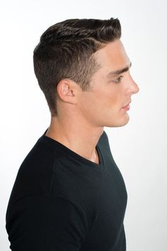 #menscutting #sourcesalon #avedagroomingclay #Aveda #jayreyes Classic 1950's style on a moderen man 40s Hairstyles, Men's Hairstyle, Wedding Hairstyles, Hair And Beard Styles, Hair Styles, Classic Haircut, Mens Hair, Male Face, 1950s Fashion