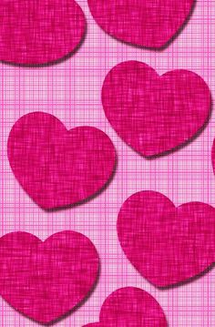 Heart Wallpaper, More Wallpaper, Pattern Wallpaper, Heart Background, Background Patterns, Love Illustration, Writing Paper, Cute Wallpapers, Iphone Wallpapers